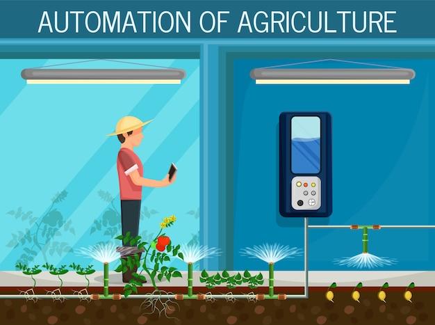 Agricultura de automação