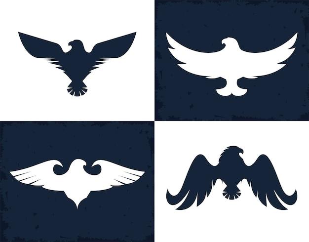 Águias e falcões