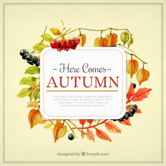 Aí vem modelo de outono