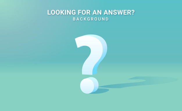 Ajuda e suporte design de plano de fundo de ponto de interrogação