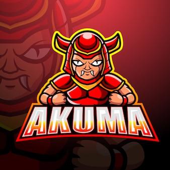 Akuma mascot esport