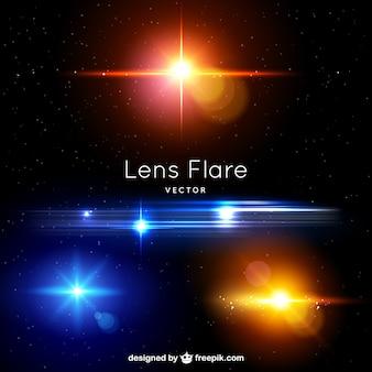 Alargamentos da lente