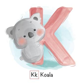 Alfabeto animal - k