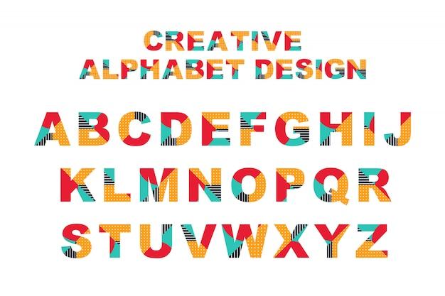Alfabeto criativo