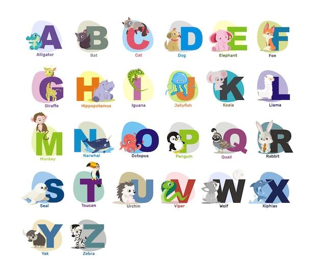 Alfabeto de animais