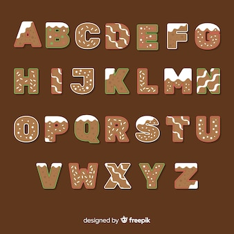 Alfabeto de gengibre