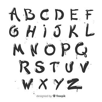Alfabeto de graffiti