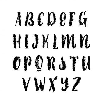 Alfabeto de vetor