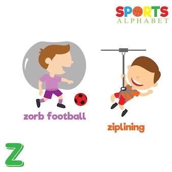 Alfabeto desportivo