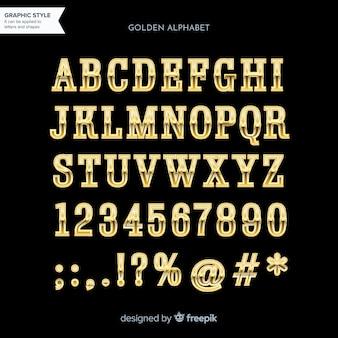 Alfabeto dourado
