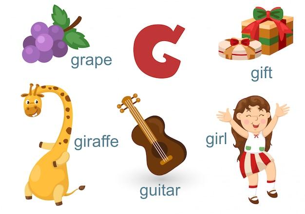Alfabeto g