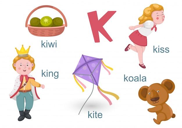 Alfabeto k
