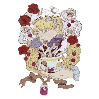 Alice e chá