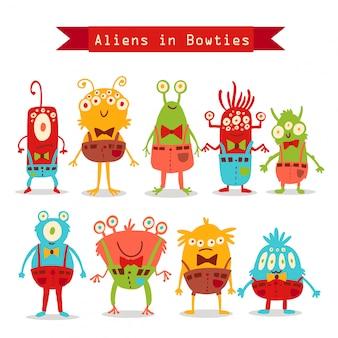 Aliens em bowties