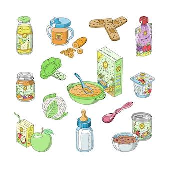 Alimentação infantil alimentação saudável
