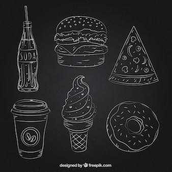 Alimentos delineado