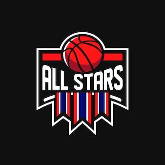 Allstars basquete logo sports