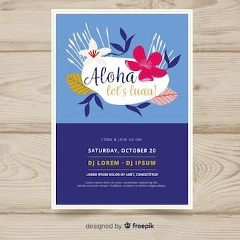 Aloha festa banner