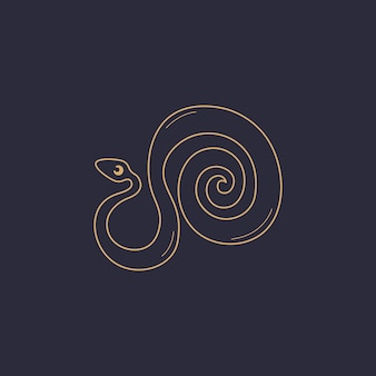 Alquimia esotérica mágica mística talismã celestial ícone de linha objeto de ocultismo espiritual