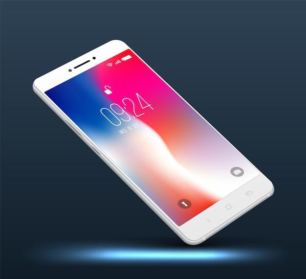 Alta realista smartphone realista.