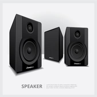 Alto-falantes isolados