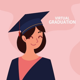Aluna de graduação virtual