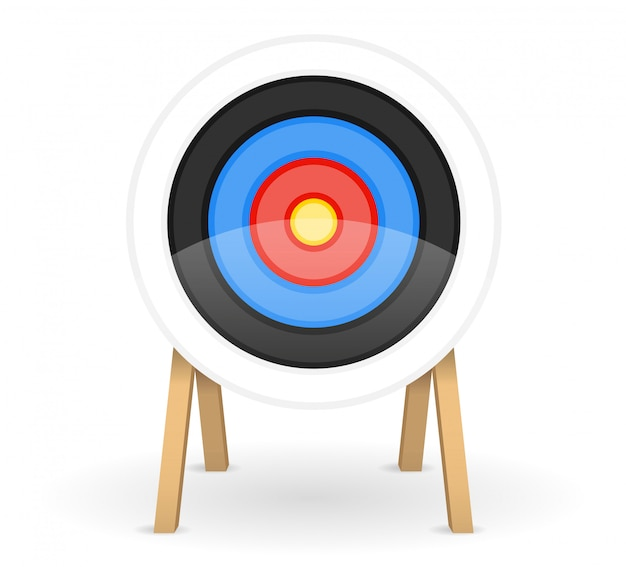 Alvo para atirar arco de flecha