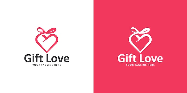 Amado inspiração para o design do logotipo do presente
