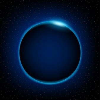Amanhecer do espaço amanhecer do espaço nascer do sol atrás da terra
