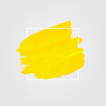 Amarelo com tinta