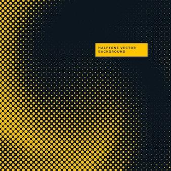 Amarelo e preto pontos de retícula de fundo