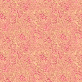 Amarelo e rosa rodou padrão