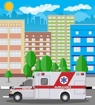 Ambulância carro emergência veículo hospital transporte