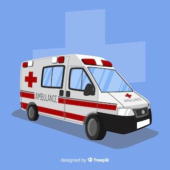 Ambulância plana