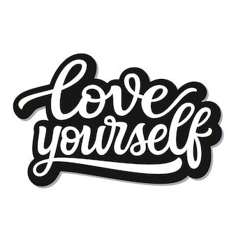 Ame-se letras
