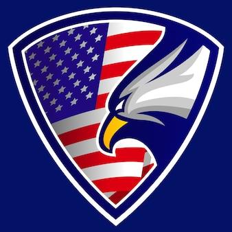 América logotipo da crista do clube de águia