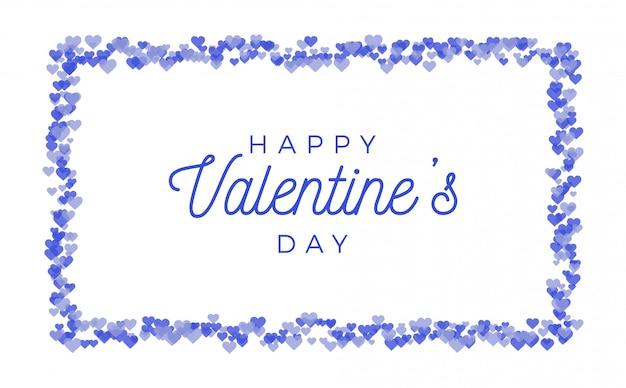 Amor abstrato para seu cartão de dia dos namorados