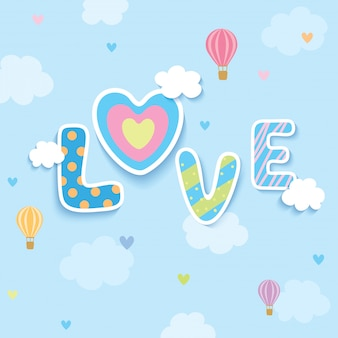 Amor céu azul