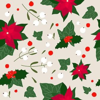 Amostra de tecido têxtil de natal ou ano novo ou papel de embrulho padrão sem emenda de fundo