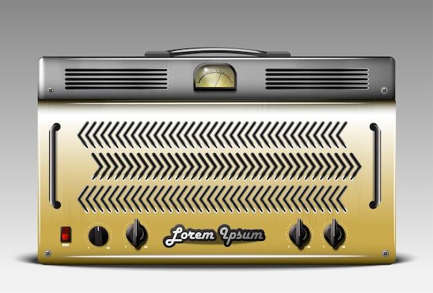 Amplificador combo de guitarra realista
