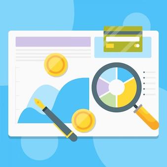 Analisando relatório financeiro