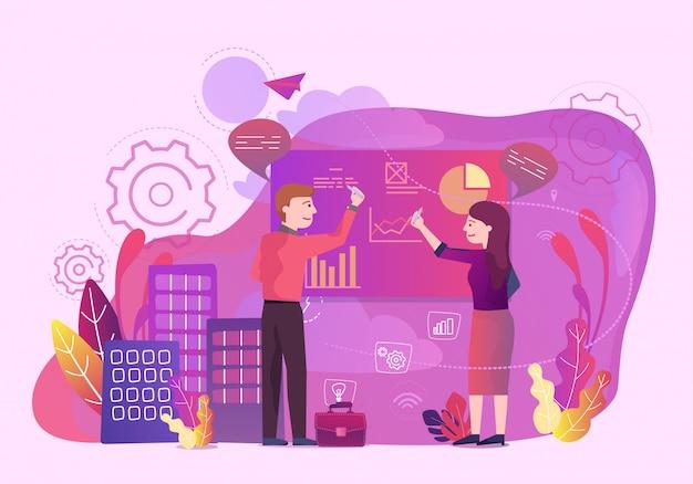Análise de dados do escritório de negócios