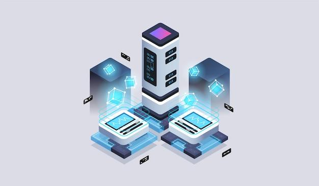 Análise de dados, processamento de computação de big data