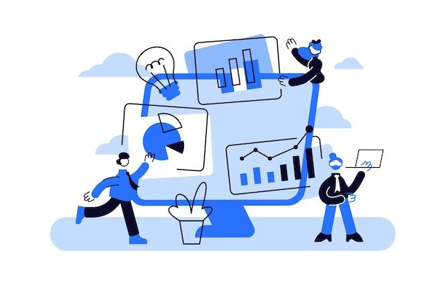 Análise de estatísticas de mercado, estratégia de marketing