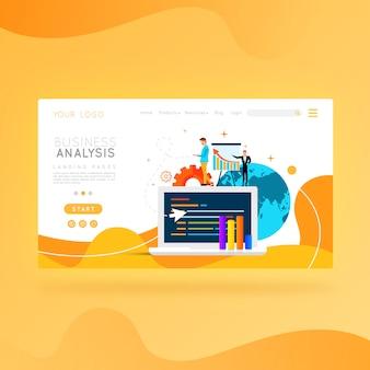 Análise de negócios do site