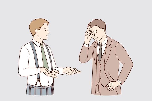 Análise de negócios e conceito de comunicação