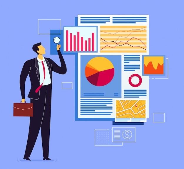 Análise de relatório de negócios
