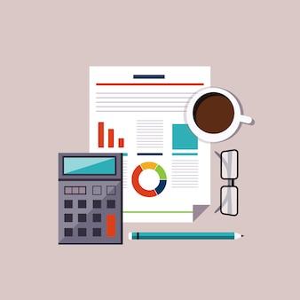 Análise do mercado de ações de contabilidade financeira. conceito de planejamento de orçamento.