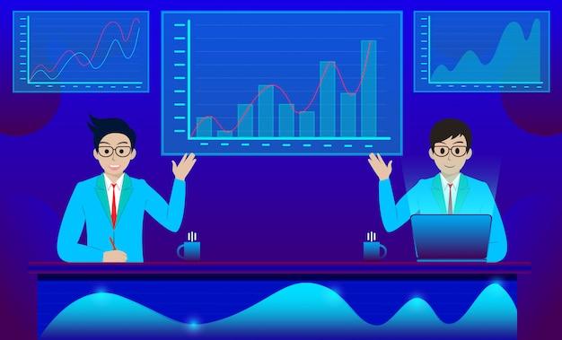 Análise e comunicação de negócios marketing contemporâneo e software para desenvolvimento