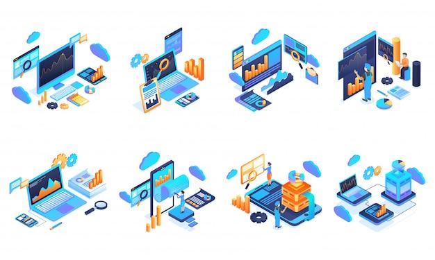Análise e gerenciamento de dados.